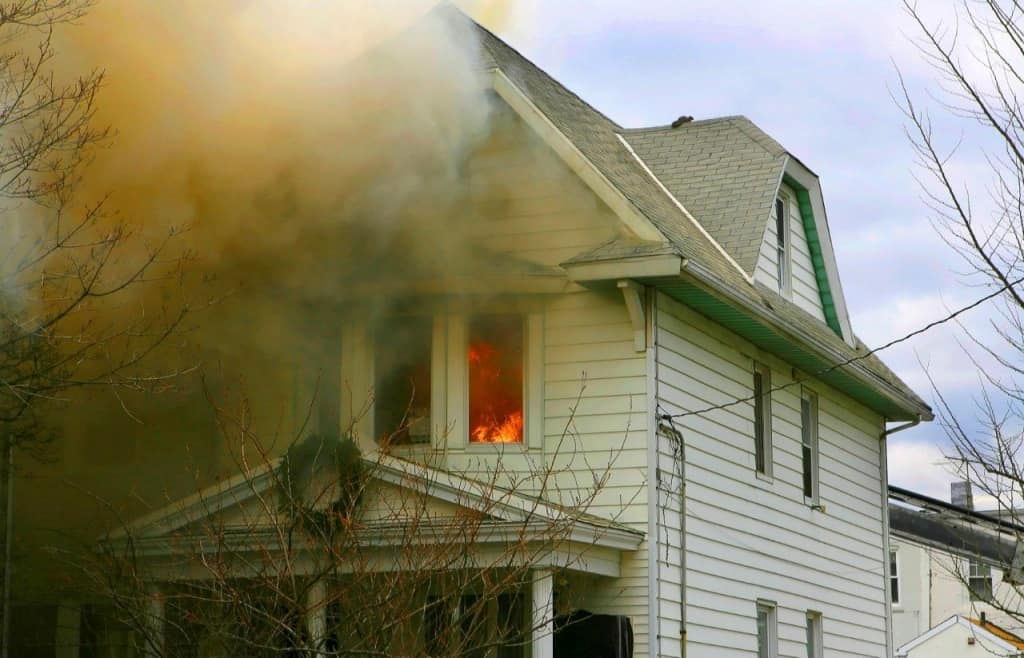Fire Smoke Damage Cleanup