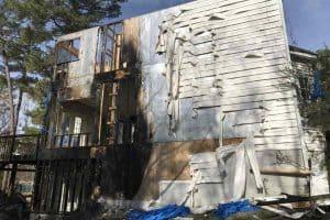 fire damage repairs